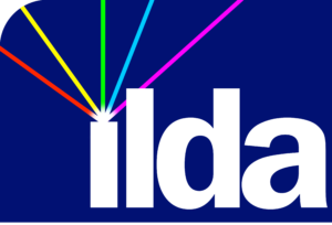 2020 ILDA logo colorbeams 2 - no text